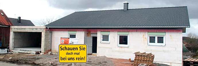 Hausbesichtigung in Bottenbach